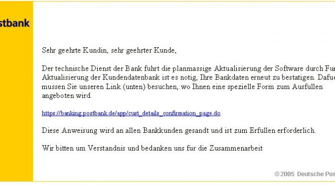 *Postbank Online-Banking