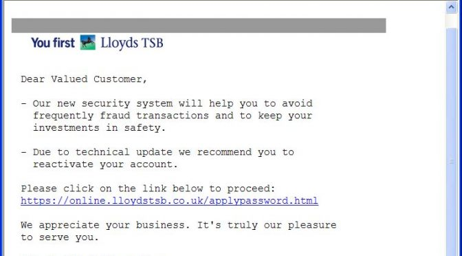 *URGENT NOTICE FROM Lloyds TSB Bank  (Ref: 1456)