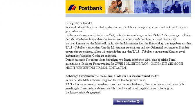 *Warnung der Banksicherheitsdienst hinsichtlich der Internet – Misstaeter