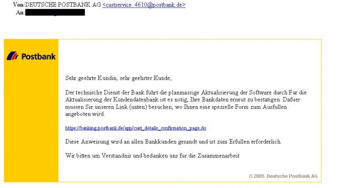 *Postbank Internet-Banking
