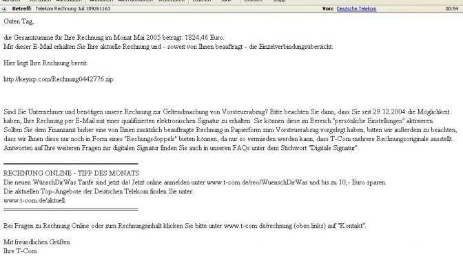 Telekom Rechnung