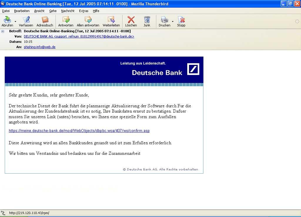 Deutsche Bank Online Banking A I3org