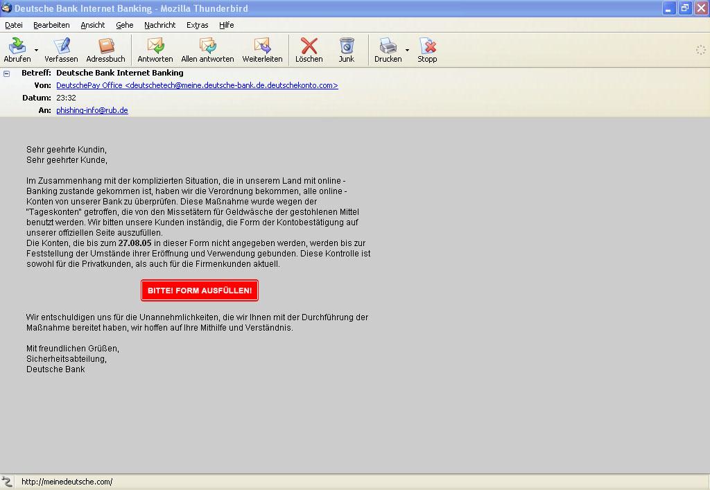 Deutsche Bank Internet Banking A I3org