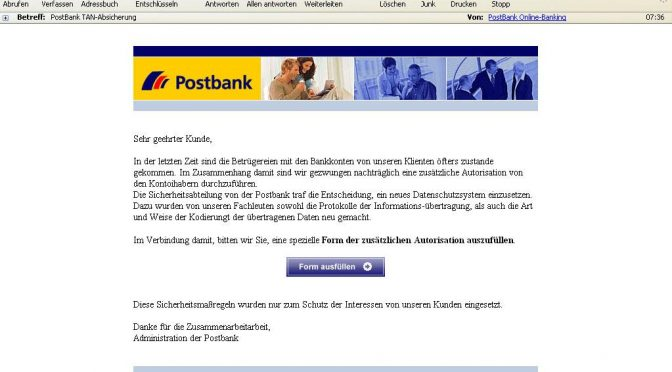 PostBank TAN-Absicherung