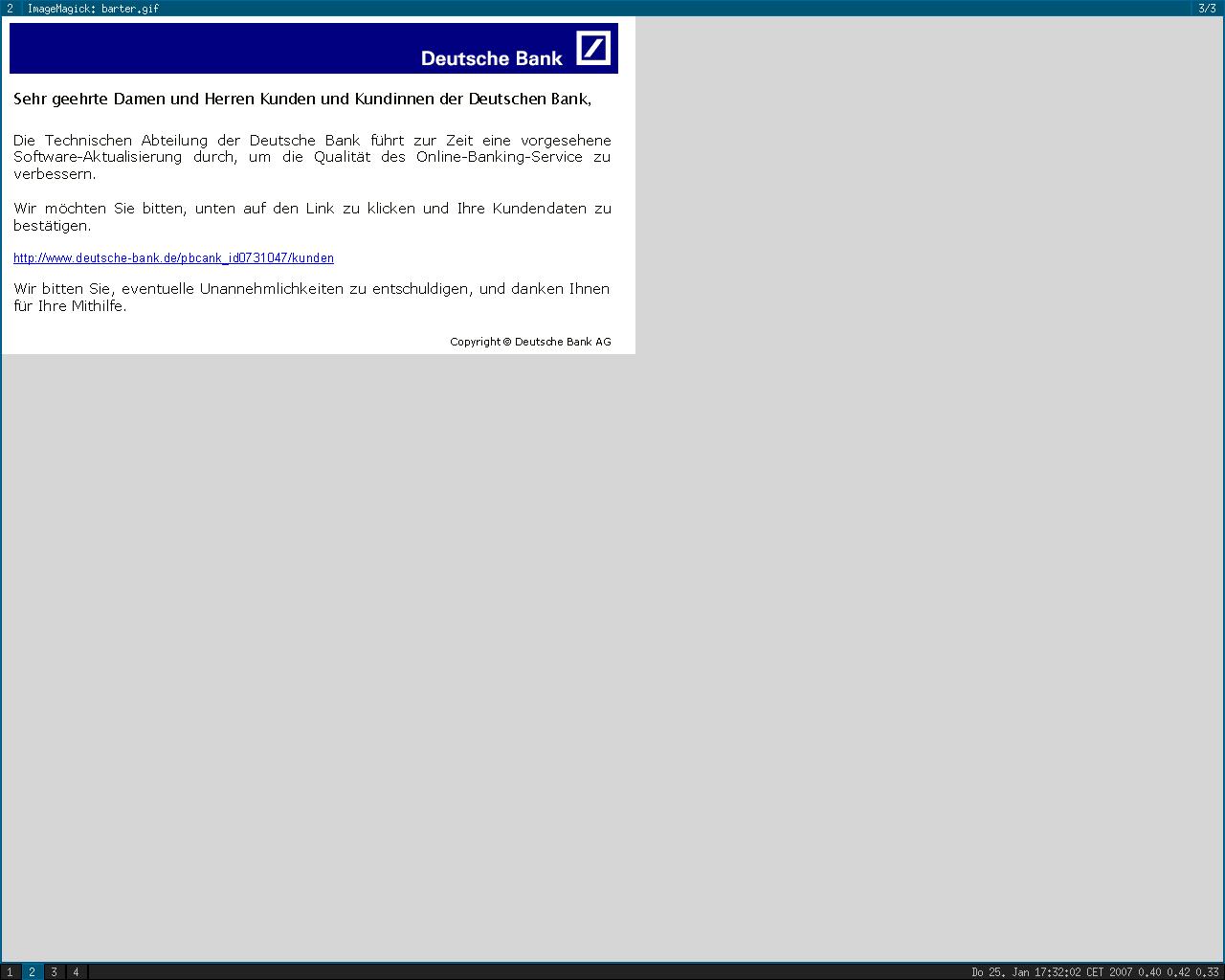 Deutsche Bank: Online-Banking | a-i3.org on